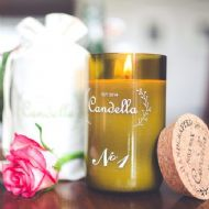 Candella - No 1 # Vintage Rose Candle